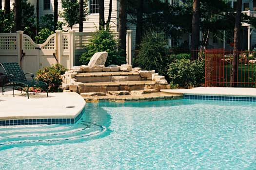 Columbus Ohio Custom In Ground Swimming Pool Image Gallery Quality Swimming Pools