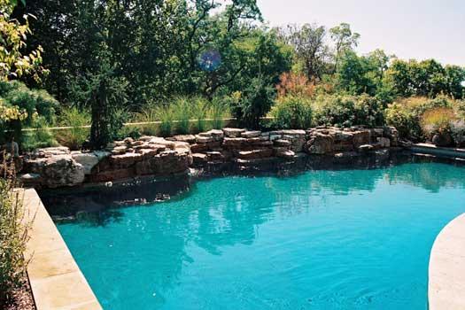 Quality Swimming Pools : Columbus ohio custom in ground swimming pool image gallery