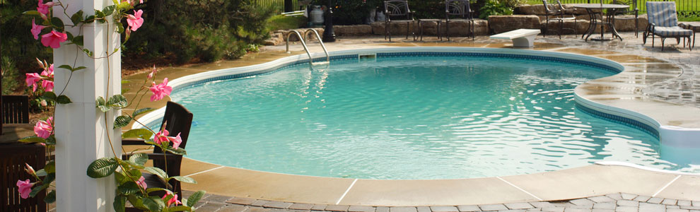 Columbus Ohio Custom In-Ground Swimming Pool Installation and Service
