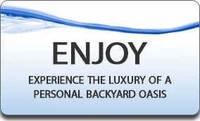 Experience the luxury of a personal backyard oasis